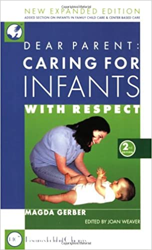 caring for infants book cover by Magda Gerber