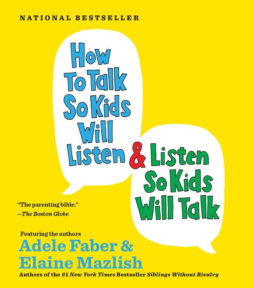 How To Talk So Kids Will Listen Book Cover
