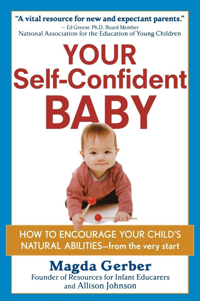 cover of your self-confident baby book by Magda Gerber