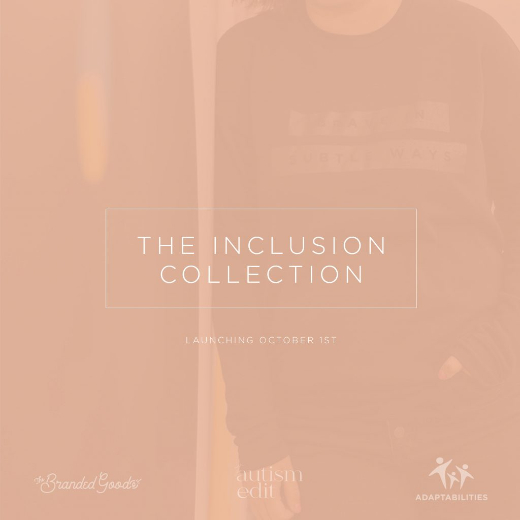 """faded image with headline saying """"The Inclusion Collection"""""""